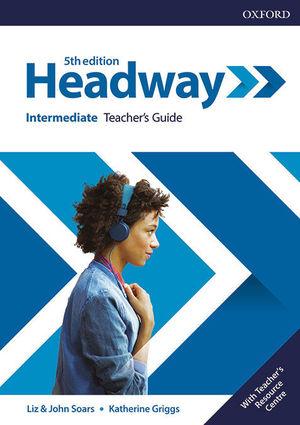 NEW HEADWAY 5TH EDITION INTERMEDIATE. TEACHER'S BOOK & TEACHER'S RESOURCE PACK
