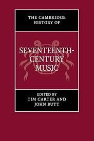 CAMBRIDGE  HISTORY OF SEVENTEENTH-CENTURY MUSIC PB