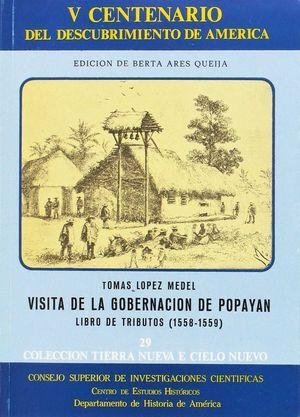 VISITA DE LA GOBERNACIÓN DE POPAYÁN