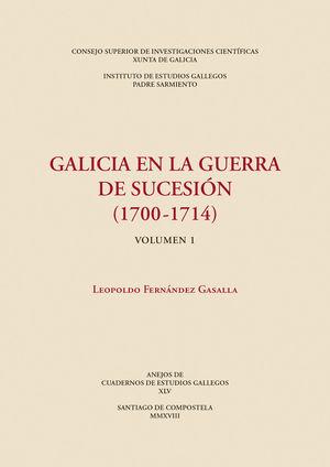 GALICIA EN LA GUERRA DE SUCESIÓN (1700-1714)