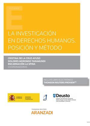 INVESTIGACION EN DERECHOS HUMANOS POSICION Y METODO DUO