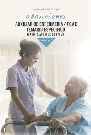 AUXILIAR DE ENFERMERÍA/ TCAE. TEMARIO ESPECÍFICO. SERVICIO ANDALUZ DE SALUD. VOL