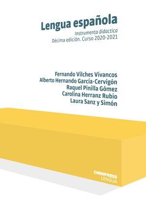 LENGUA ESPAÑOLA 10ED CURSO 2020-2021