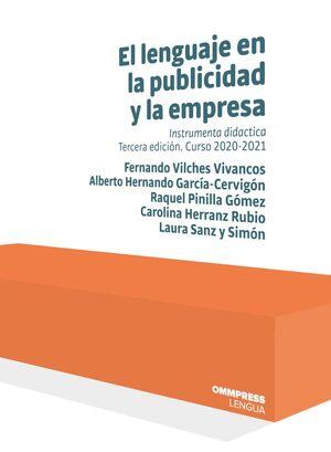 EL LENGUAJE EN LA PUBLICIDAD Y LA EMPRESA 3ED CURSO 2020-2021