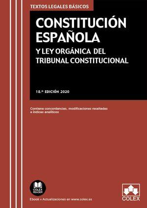 CONSTITUCION ESPAÑOLA Y LEY ORGANICA DEL TRIBUNAL CONSTITUCIONAL.