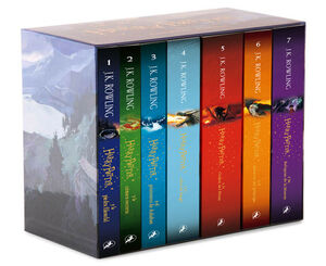 PACK HARRY POTTER - LA SERIE COMPLETA