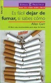 ES FÁCIL DEJAR DE FUMAR, SI SABES CÓMO