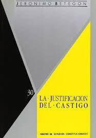 JUSTIFICACIÓN DEL CASTIGO