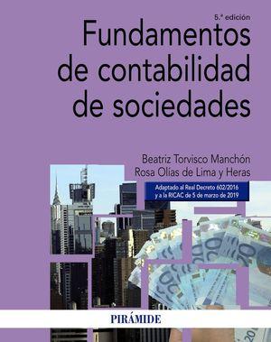 FUNDAMENTOS DE CONTABILIDAD DE SOCIEDADES 2019