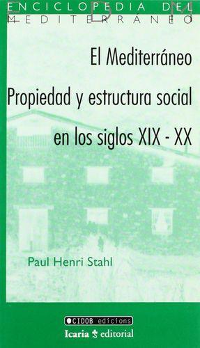 EL MEDITERRANEO PROPIEDAD Y ESTRUCTURA SOCIAL