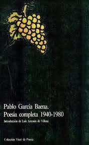 POESÍA COMPLETA. 1940 - 1997