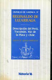 DESCRIPCIÓN DEL PERÚ, TUCUMÁN, RÍO DE LA PLATA Y CHILE