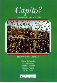CAPITO? LIBRO VERDE-LIVELLO A.1