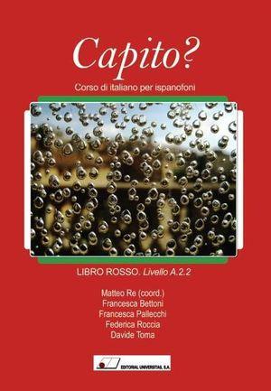 CAPITO? LIBRO ROSSO ROJO LIVELLO A.2.2