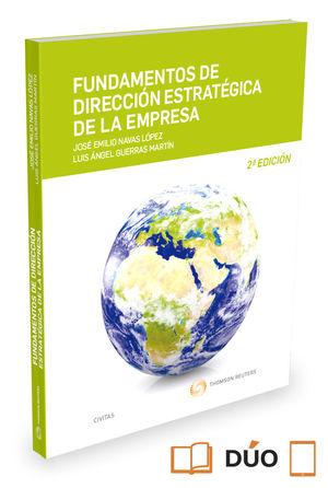 FUNDAMENTOS DE DIRECCIÓN ESTRATÉGICA DE LA EMPRESA (PAPEL + E-BOOK)