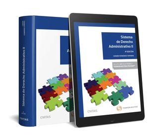 SISTEMA DE DERECHO ADMINISTRATIVO II (PAPEL + E-BOOK)