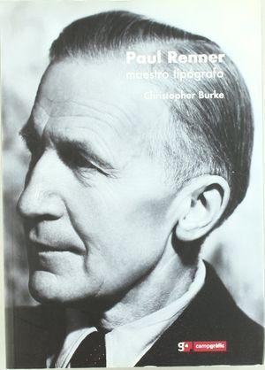 PAUL RENNER. EL ARTE DE LA TIPOGRAFÍA. 2 T.