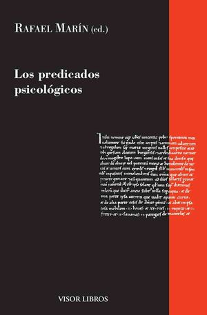 LOS PREDICADOS PSICOLÓGICOS