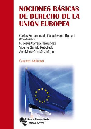 NOCIONES BASICAS DE DERECHO DE LA UNION EUROPEA ED. 2019