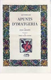 APUNTS D'IMATGERIA. ART POPULAR